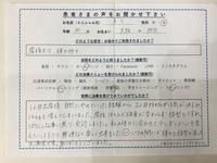 大阪市 30歳 女性 産後太り、体力低下でご来院のA.Sさん